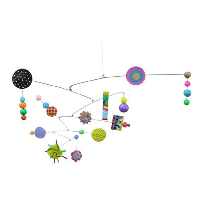 Kinetic Sculptural Mobiles | 8-12 years