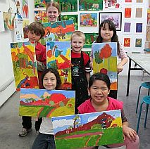 Paint An Island Paradise like Paul Gauguin | 8-12 years