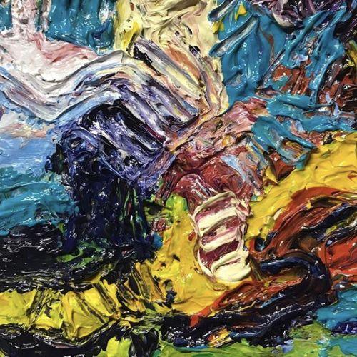 Acrylic Painting | Big Juicy Impasto Painting |  Mellissa Read-Devine