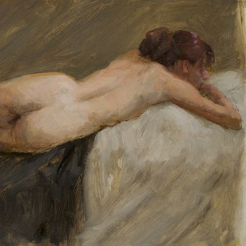 Oil Painting Master Class | Painting the Nude with Matilda Michell