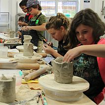 Clay Pottery and Sculpture Term Class for Children | 7-9 years