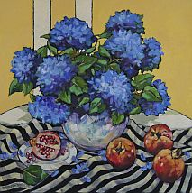 Acrylic Painting | Bright Impressions Still Life and Fruit | Mignon Parker