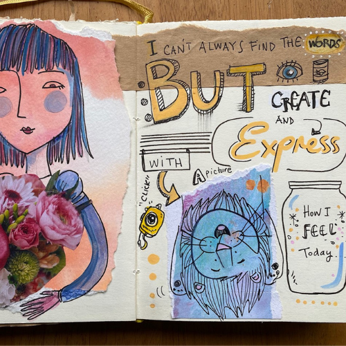 Masterclass | Visual Journaling | Expressing your Inner World | Teens