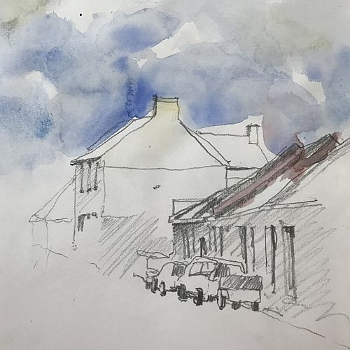 Drawing with Confidence for Watercolour Painting with Susie Murphie