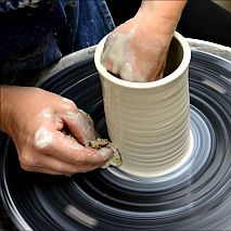 Pottery Wheel 3 Hour Casual Class For Adults | Weekend