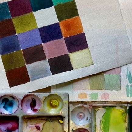 Exploring Colour in Watercolour with Tanya Baily