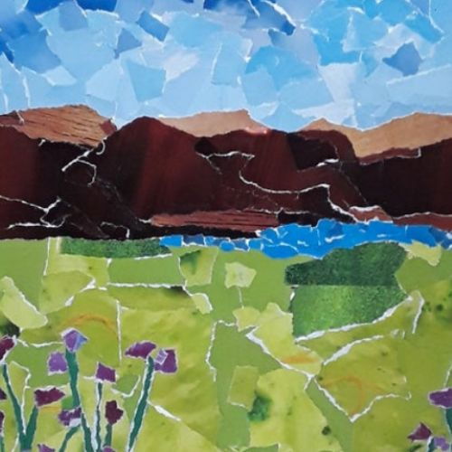 Collage   Landscapes   7-9 years
