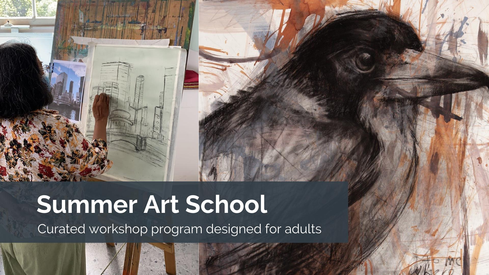 summer-art-school-for-adults-sydney