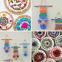 Textiles | Weave a Wall Hanging | 8-12 years