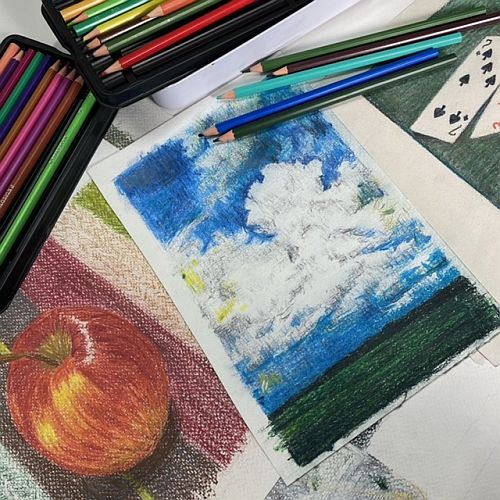 Drawing with Coloured Pencils | Sally Mowbray