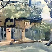 Watercolour | Painting Houses and Homes with Gina Bruce