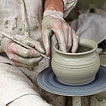 Clay Hand building +  Pottery Wheel Term Class for Adults