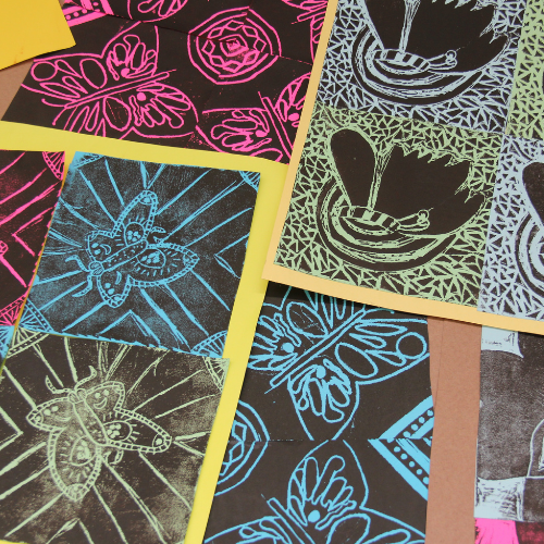 Printmaking | Two Day Workshop | 12 years +