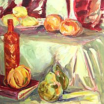 Acrylic or Oil Painting | Contemporary and Expressive | Ochre Lawson | evenings