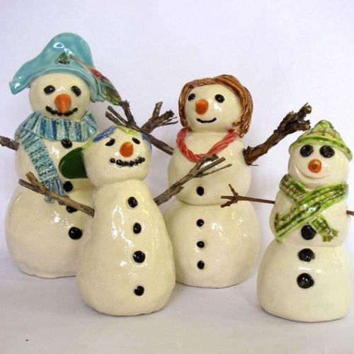 Ceramic Christmas Snowpeople | 5-7 years
