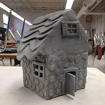 Ceramic Festive Gingerbread Houses in Clay | 9-12 years