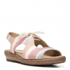 REILLY SANDALS IN MULTI STRIPE