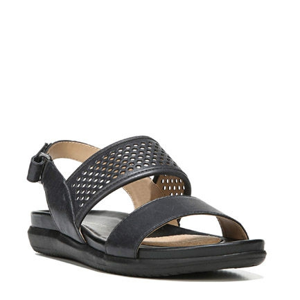 SKYLER SANDALS IN BLACK