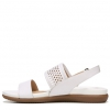 SKYLER SANDALS IN WHITE