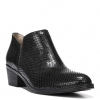 ZARIE ANKLE BOOTS IN BLACK SNAKE