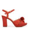 ADELLE DRESS IN KETTLE RED