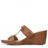 CAMBREY WEDGES IN SADDLE TAN