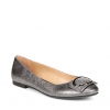 GEONNA FLATS IN SILVER METALLIC