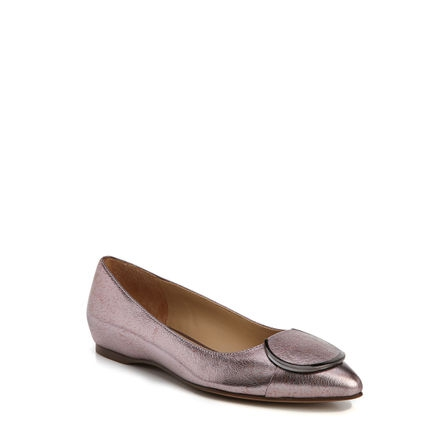 STELLA FLATS IN LILAC METALLIC