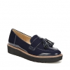 AUGUST CASUALS IN INKY NAVY PATENT
