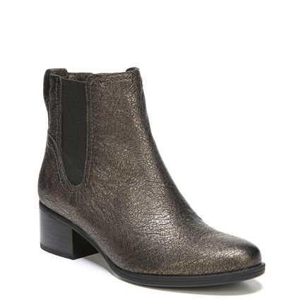 DALLAS ANKLE BOOTS IN BRONZE METALLIC