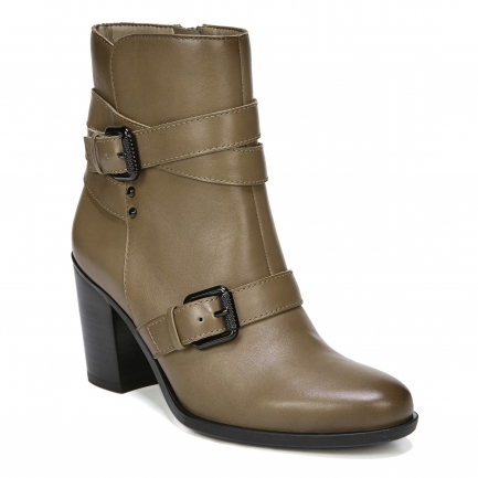 KARLIE ANKLE BOOTS IN MALT TAUPE