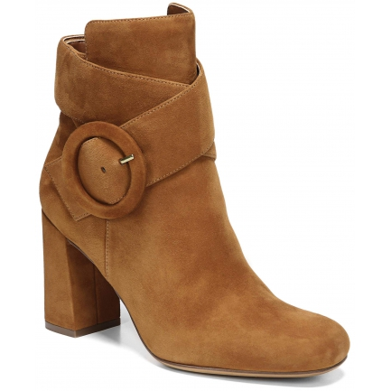RAE ANKLE BOOTS IN WHISKEY SUEDE