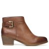 WANYA ANKLE BOOTS IN SADDLE TAN