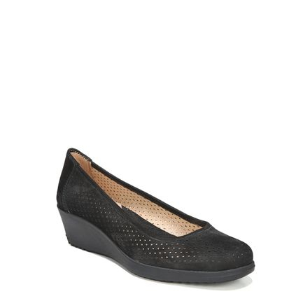 BETINA 2 WEDGES IN BLACK