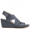 CLEO WEDGES IN PARIS BLUE