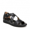 ELLIOT SANDALS IN BLACK
