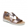 ELLIOT SANDALS IN LILAC METALLIC