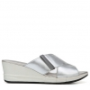 IZZY WEDGES IN SOFT SILVER
