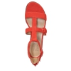 MABEL SANDALS IN RED