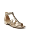 MABEL SANDALS IN LIGHT GOLD