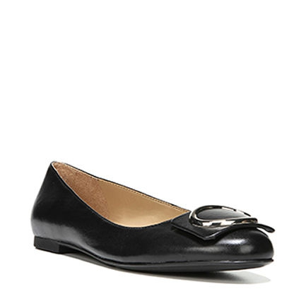GEONNA FLATS IN BLACK