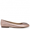 GEONNA FLATS IN ROSE GOLD SPARKLE