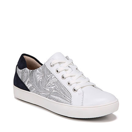MORRISON 4 CASUALS IN WHITE/SILVER