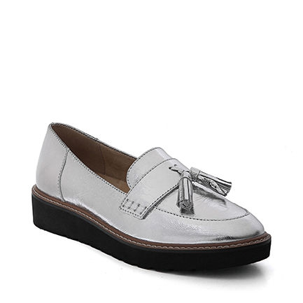 AUGUST CASUALS IN SILVER