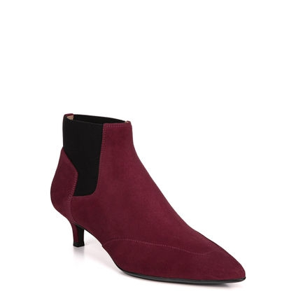 PIPER ANKLE BOOTS IN RED