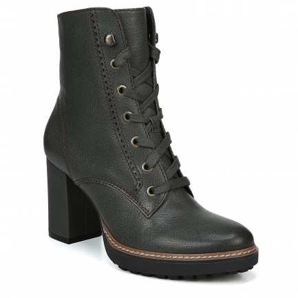 CALLIE ANKLE BOOTS IN GREEN