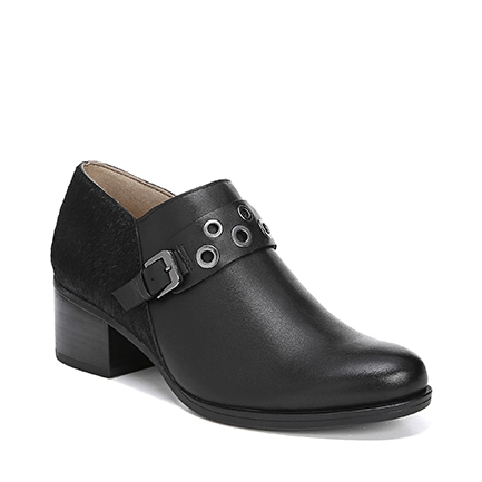 DELTA ANKLE BOOTS IN BLACK