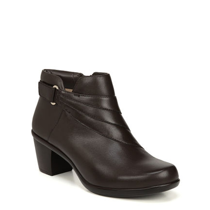 EMILIA ANKLE BOOTS IN OXFORD BROWN