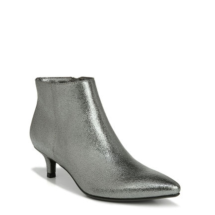 GISELLE ANKLE BOOTS IN PEWTER