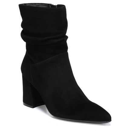 HOLLACE ANKLE BOOTS IN BLACK